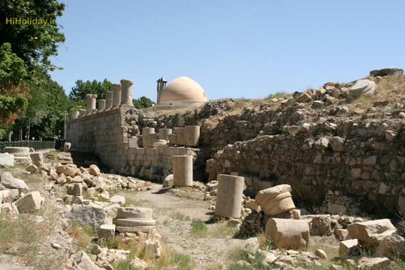معبد آناهیتا-کرمانشاه