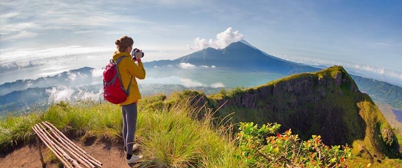 کوه های آتش فشان بالی