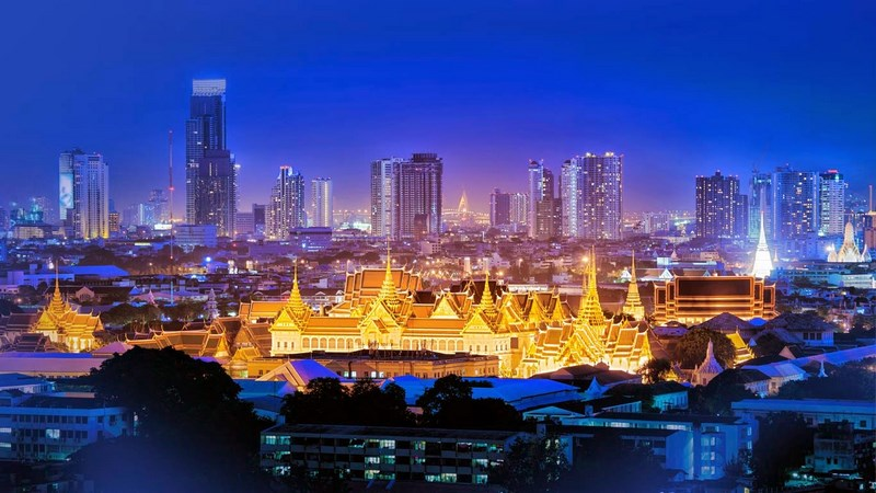 بانکوک یا بانگکوک پایتخت کشور تایلند