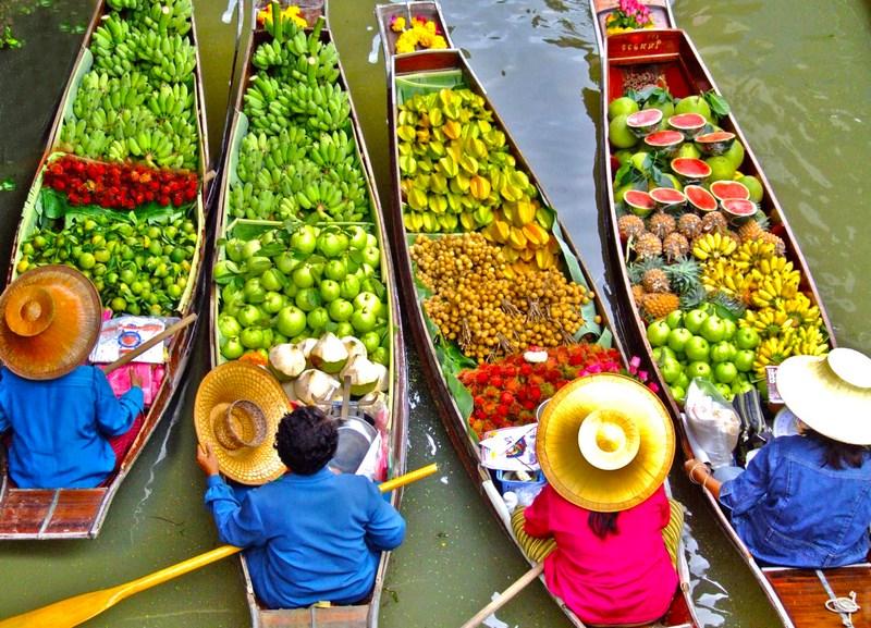 بازارهای شناور Floating Market