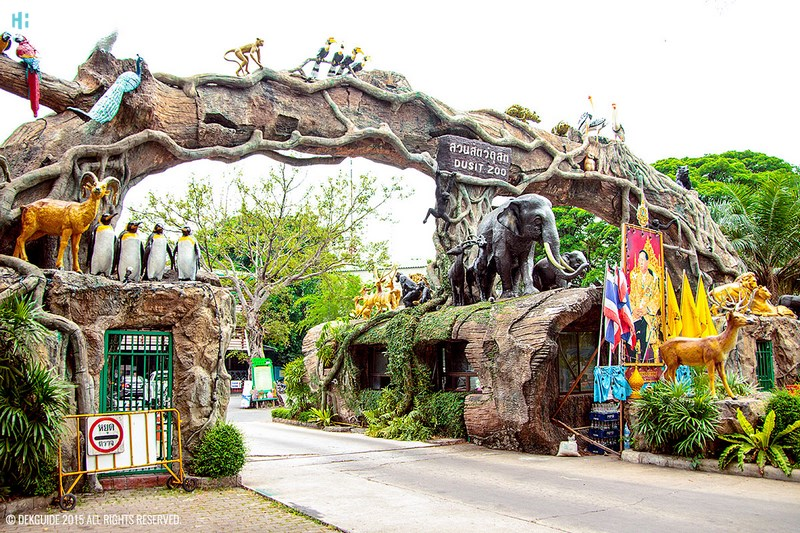 Dusit Zoo باغ وحش دوسیت