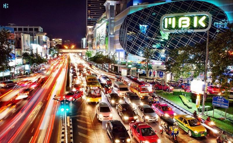مرکز خرید MBK در منطقه Siam