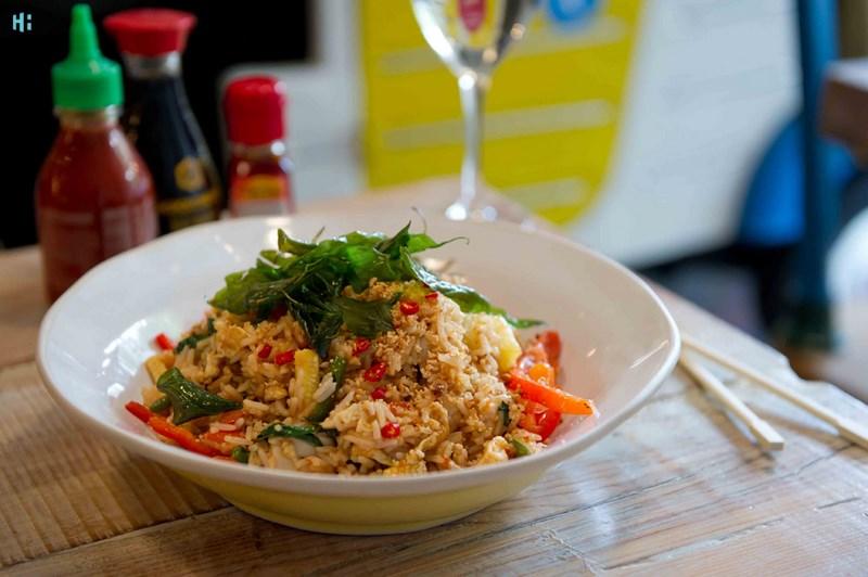 برنج تایلندی در بانکوک