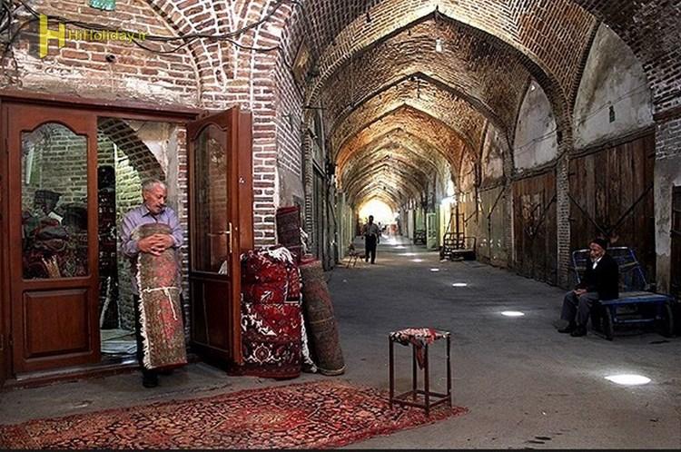 بازار تبریز بزرگترین و مهمترین بازارهای سرپوشیده بیشتر بدانید
