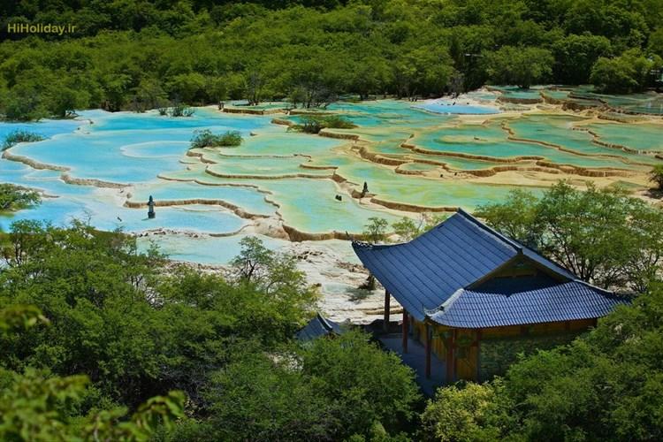 پارک ملی HUANGLONG چین سرزمینی جادویی روی زمین