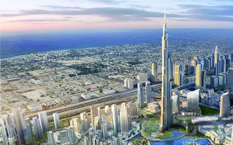 دبی شهر توریستی امارات متحده عربی