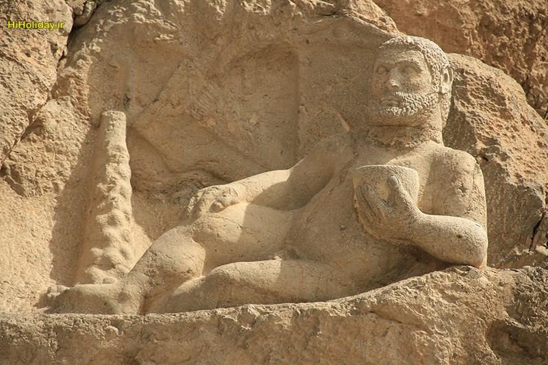 Hercules-statue, Kermanshah