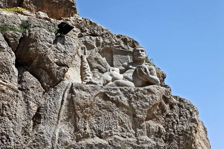 از مجسمه هرکول کرمانشاه چه می دانید