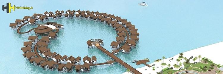 افتتاح نخستین هتل دریایی ایران در کیش
