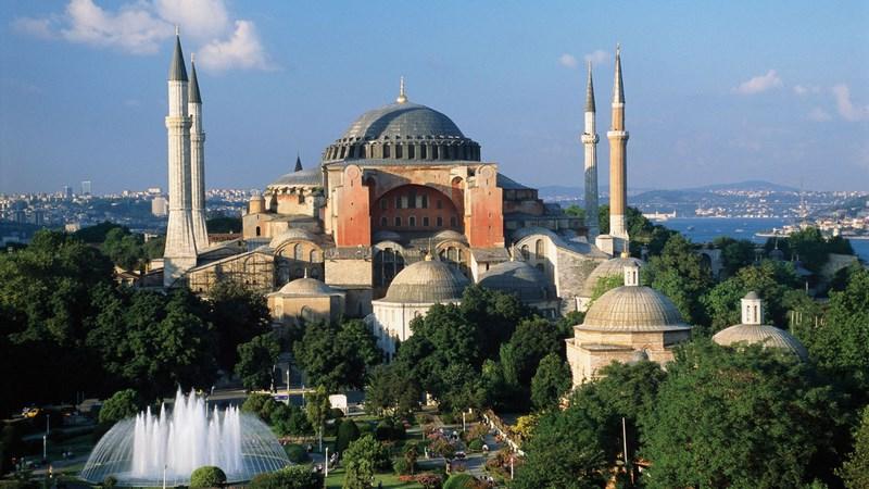 موزه حقا صوفیا Hagia Sophia