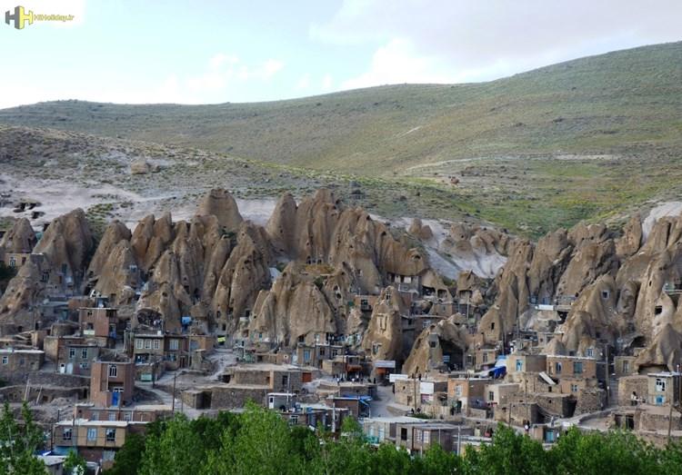 روستای کندوان یکی از سه روستای صخره ای جهان را بیشتر بشناسیم