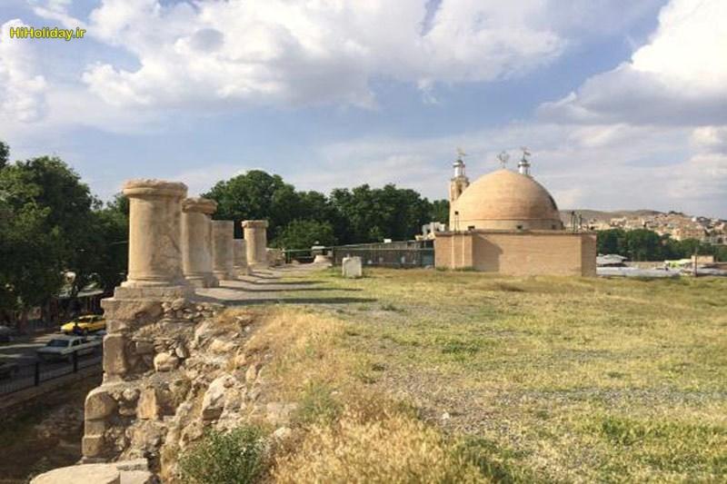 معبد آناهیتا کرمانشاه