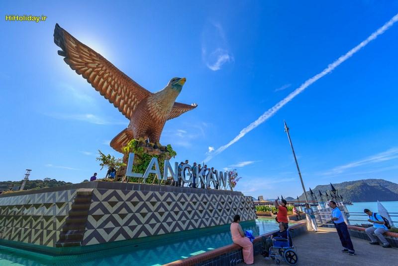 میدان عقاب لنکاوی Langkawi Dataran Lang