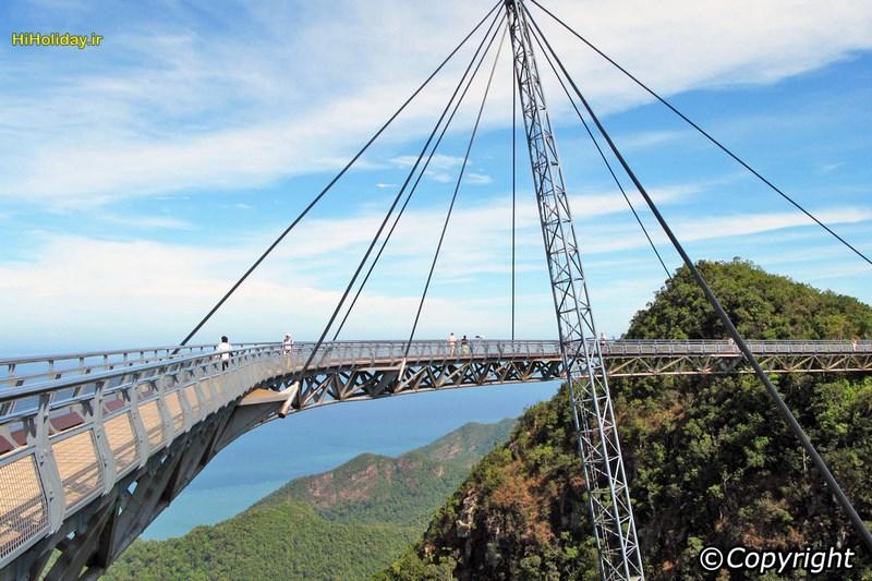 پل اسکای لنکاوی Langkawi Sky Bridge