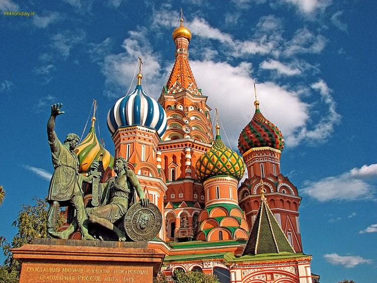 متفاوت ترین کلیسا را در تور روسیه ببینید
