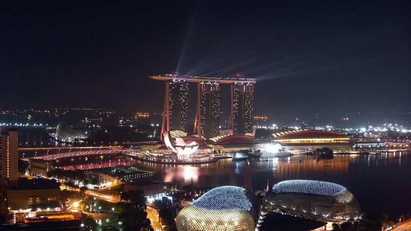 مارینا بی سنگاپور Marina Bay Sands Singapore