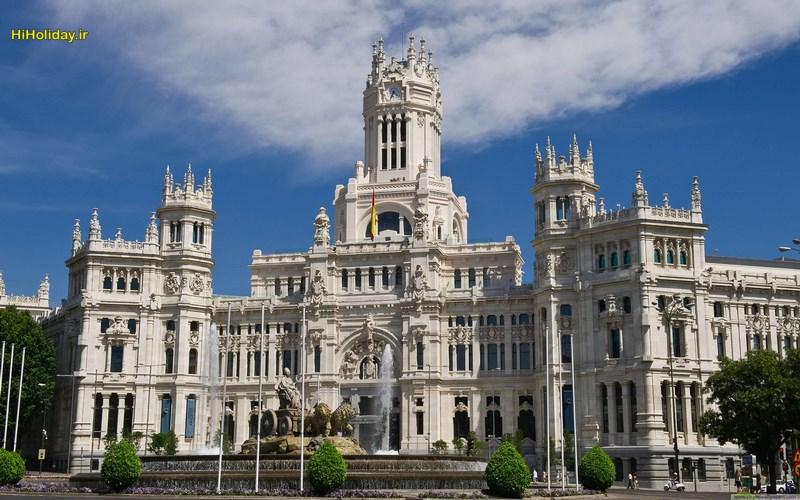 معرفی مادرید پایتخت اسپانیا