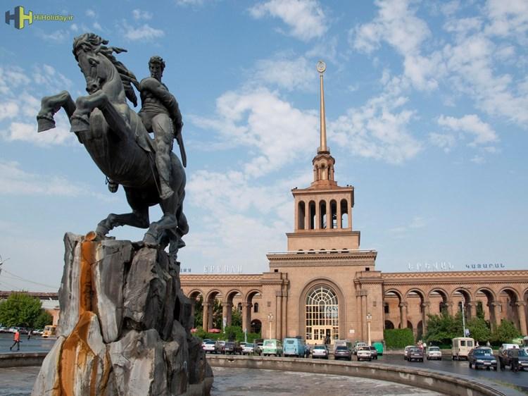مهم ترین جاذبه های گردشگری ایروان پایتخت ارمنستان