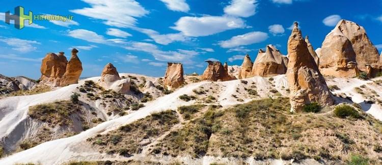 دره های کاپادوکیا مجموعه بی نظیر سازه های سنگی عجیب را بهتر بشناسیم