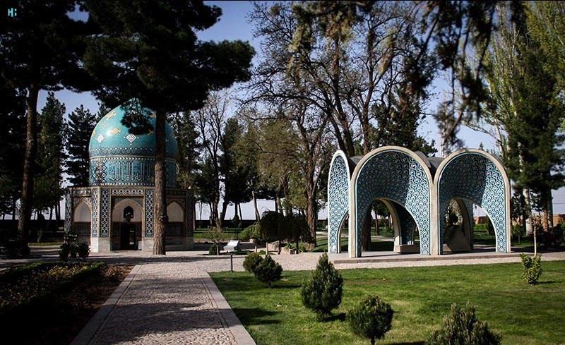 آرامگاه عطار نیشابوری در شهر نیشابور، خراسان رضوی