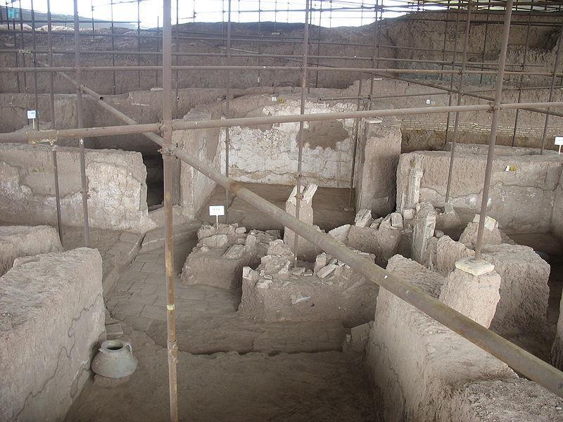 شهر تاریخی شادیاخ، در نزدیکی نیشابور، خراسان رضوی