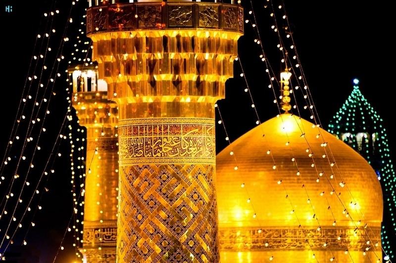 حرم امام رضا در مشهد