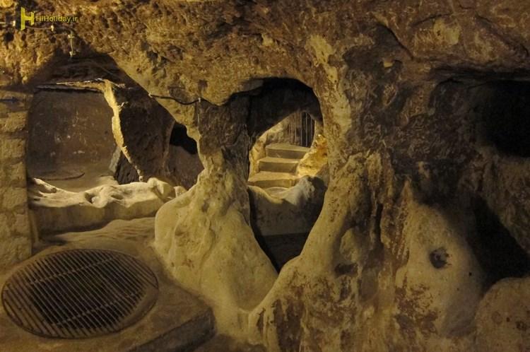 شهرهای زیرزمینی مرموز کاپادوکیا را چقدر می شناسید
