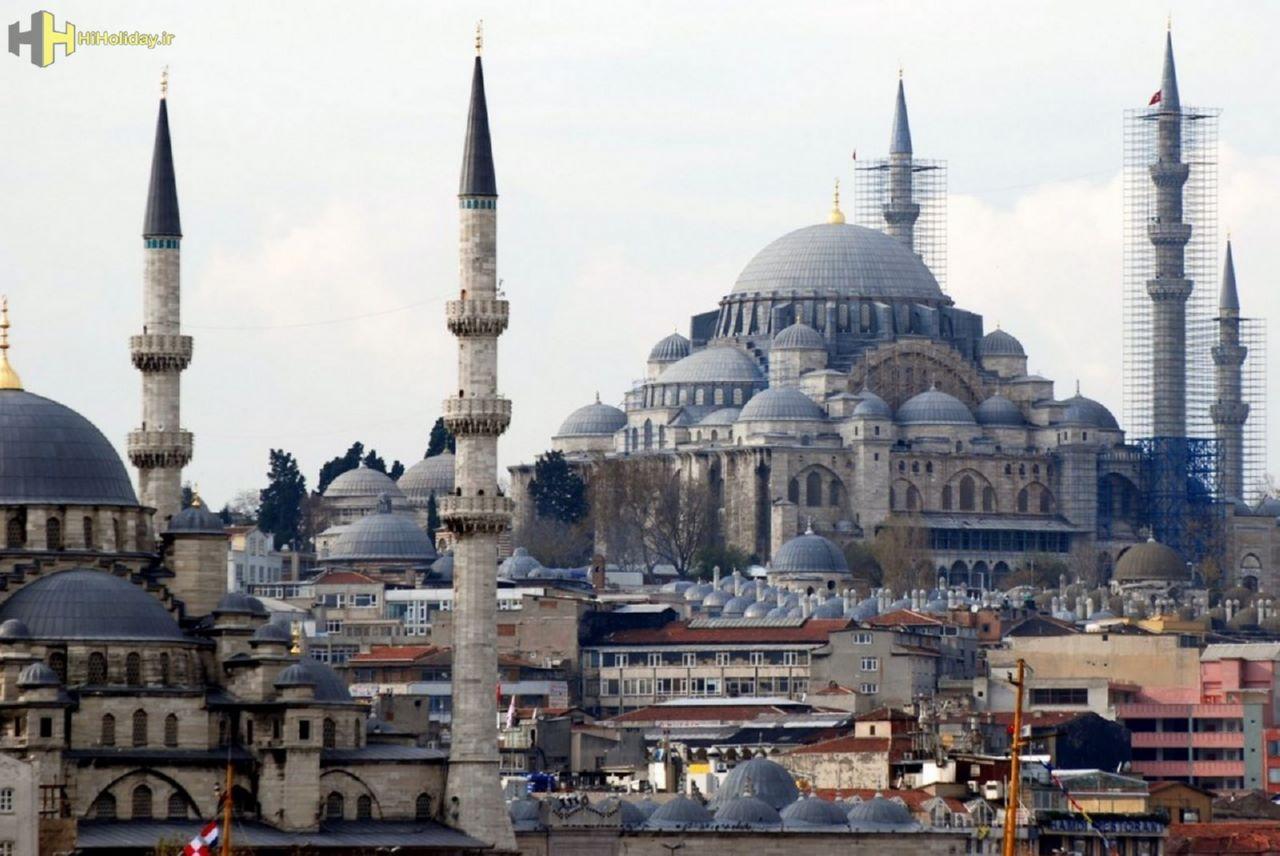 تور استانبول 4 شب و 5 روز