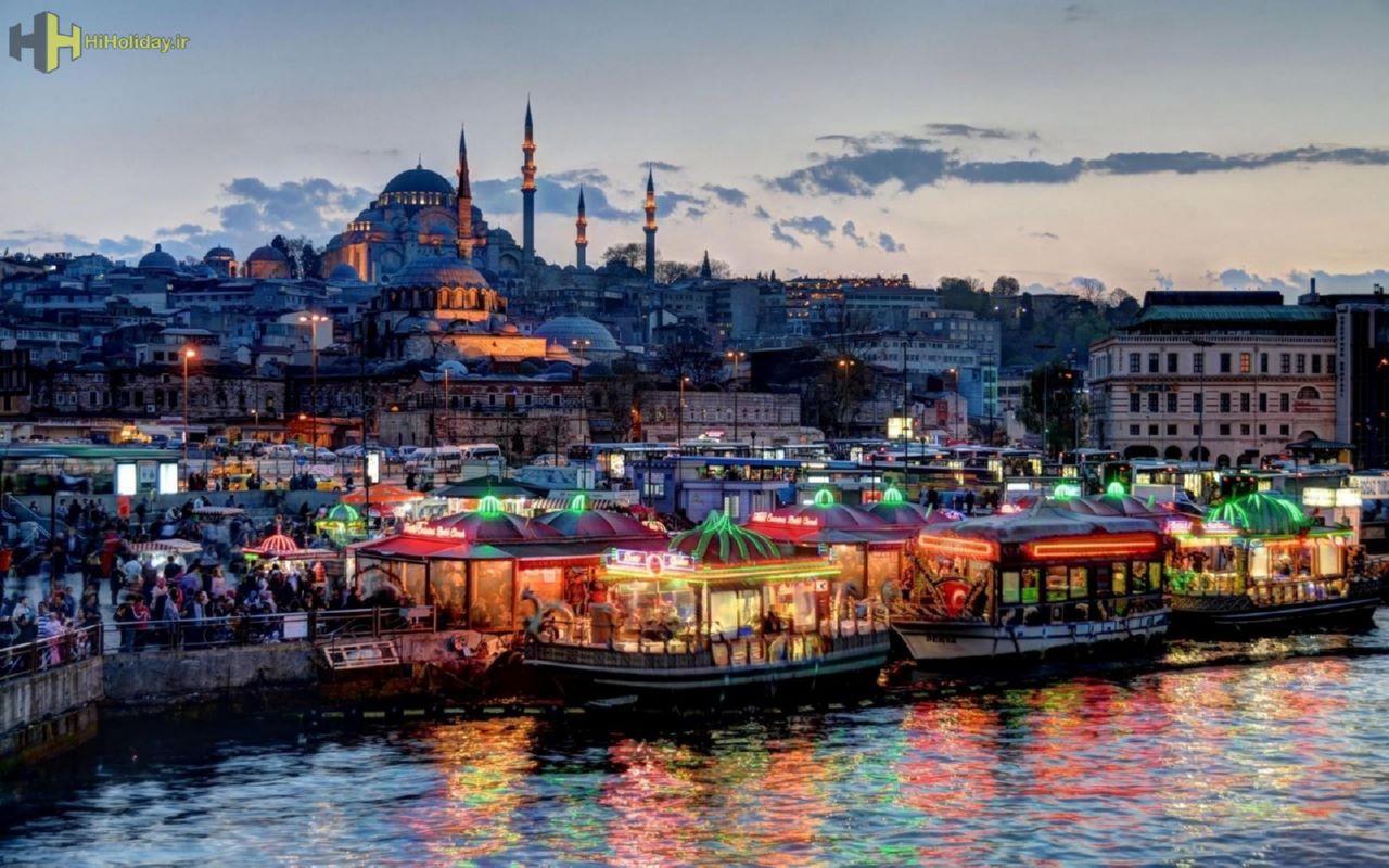 تور استانبول زمینی ویژه نوروز