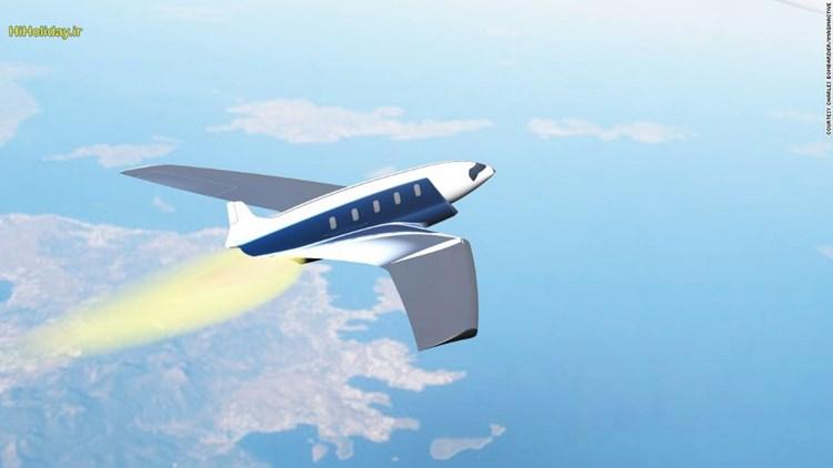 هواپیمای جدید انگلستان به نیویورک را 20 دقیقه ای می پیماید