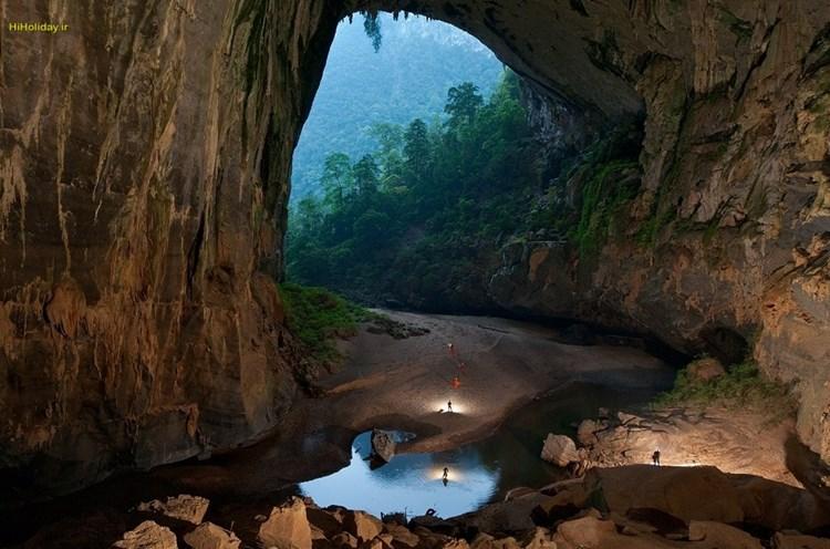 سفر به اعماق بزرگ ترین غار جهان